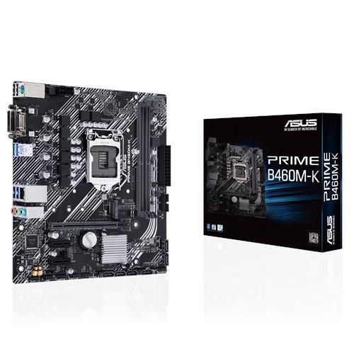Asus Asus PRIME B460M-K Memory slots 2, Processor family Intel, Micro ATX, DDR4, Processor socket LGA1200, Chipset Intel B