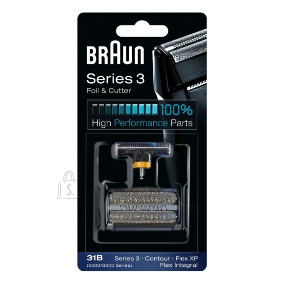 Braun Braun 31B Foil and Cutter replacement pack Black