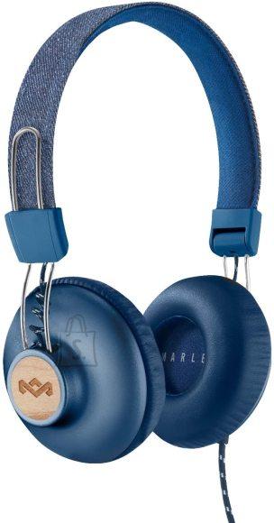 Marley Headphones Positive Vibration 2 Built-in microphone, 3.5mm, Denim