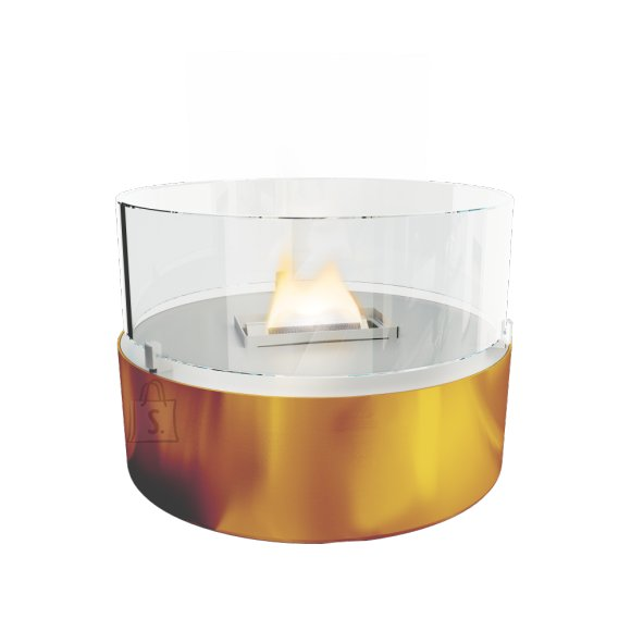 Tenderflame biokamin lauale Cafe  FlatWick metal Diameter 13 cm, 18 cm, 300 ml, 5 hours, Copper