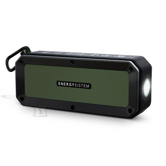 Energy Sistem Energy Sistem Portable Speaker Outdoor Box Adventure Bluetooth, Wireless connection, Black/Green, -42 dB