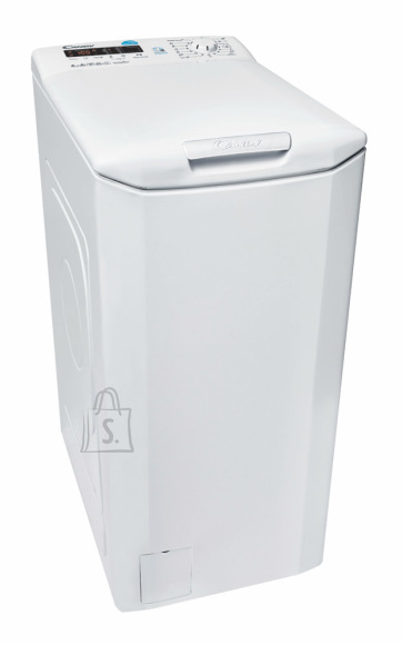 Candy Candy Washing machine CST G362D-S Top loading, Washing capacity 6 kg, 1200 RPM, A+++, Depth 60 cm, Width 40 cm, White, LED, Display,