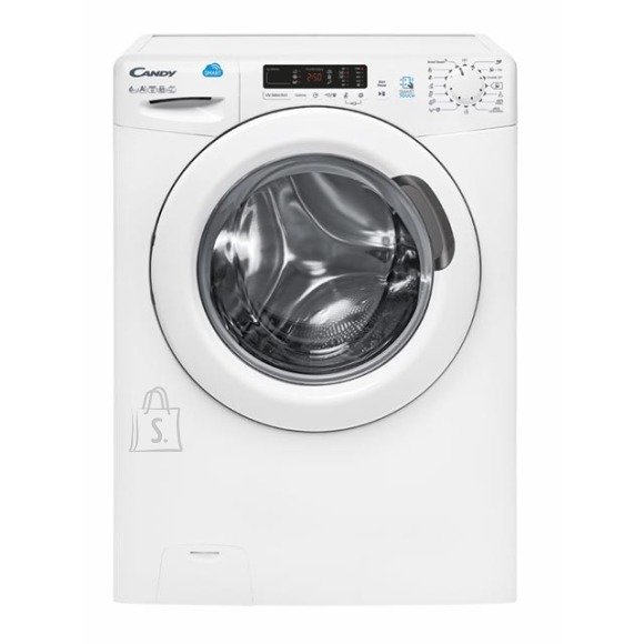 Candy Candy Washing mashine CS4 1062D3/1-S Front loading, Washing capacity 6 kg, 1000 RPM, A+++, Depth 40 cm, Width 60 cm, White, LED, Display, NFC