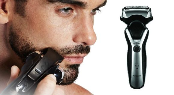 Panasonic Panasonic Shaver ES-RT47-H503 Charging time 1 h, Lithium Ion, Number of shaver heads/blades 3, Black/Silver, Wet & Dry