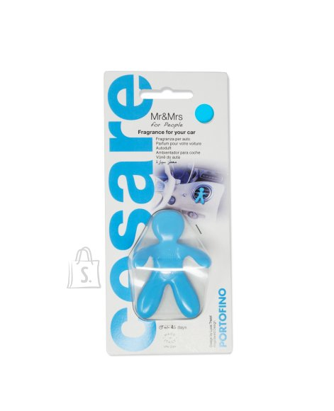 Mr&Mrs Mr&Mrs Cesare Car air freshener JCESBS09NV02 Scent for Car, Portofino, Blue