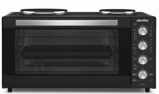Simfer Simfer Midi Oven Oscar M3551.R11N1.AA 35 L, 2 Hotplates, Free standing, 600 W, Black, 90 min