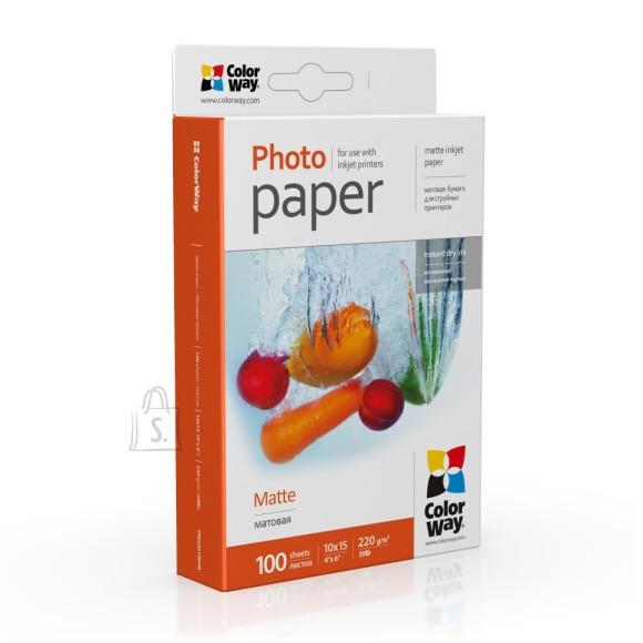 ColorWay ColorWay PM2201004R Matte Photo Paper, White, 10 x 15 cm, 220 g/m²