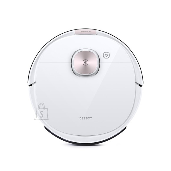 Ecovacs Ecovacs Vacuum cleaner DEEBOT OZMO T8 Wet&Dry, Operating time (max) 175 min, Lithium Ion, 5200 mAh, Dust capacity 0.42 L, 67 dB, White, Battery warranty 24 month(s)