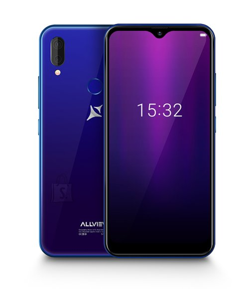 "Allview Allview Soul X6 Mini Blue, 6.2 "", IPS LCD, 720 x 1520, Cortex-A53 quad-core, Internal RAM 2 GB, 16 GB, Micro SD, Dual SIM, Nano SIM, 3G, 4G, Main camera Dual camera 13 + 2 MP, Secondary camera 13 MP, Android, 9.0, 4000 mAh"