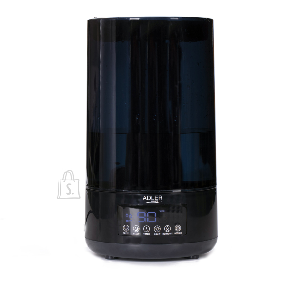 Adler Adler Air humidifier AD 7963 35 m³, 25 W, Water tank capacity 4.3 L, Ultrasonic, Humidification capacity 310 ml/hr, Black