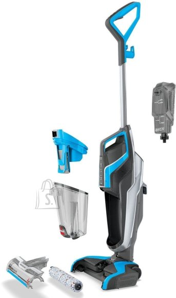 Bissell Bissell MultiFunctional Cleaner CrossWave Corded operating, Handstick, Washing function, 560 W, Blue/Titanium, Warranty 24 month(s)