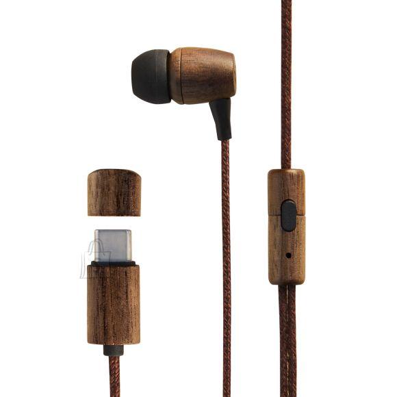 Energy Sistem Energy Sistem Wired Earphones Eco Walnut Wood Built-in microphone, In-ear, 3.5 mm mini jack