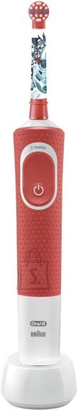 ORAL-B Oral-B Electric Toothbrush D100 Star wars Rechargeable, For kids, Number of teeth brushing modes 2, Red