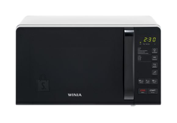 Winia Microwave oven KOR-663KW Free standing, 700 W, White