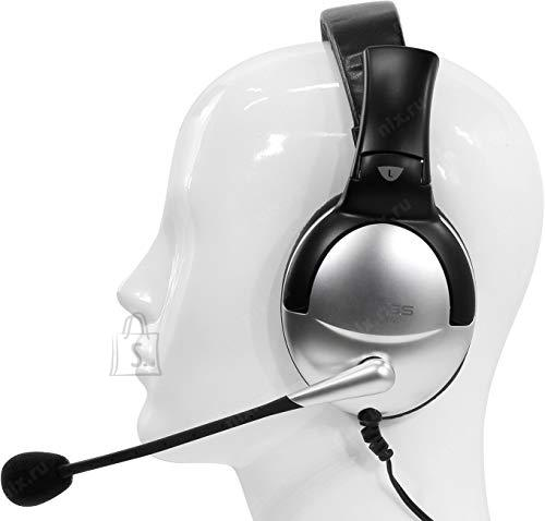 Koss Koss Headphones QZPro Headband/On-Ear, 3.5mm (1/8 inch), Silver/Black, Noice canceling,