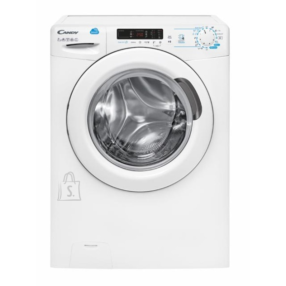 Candy Candy Washing mashine CSS4 1272D3/1-S Front loading, Washing capacity 7 kg, 1200 RPM, A+++, Depth 40 cm, White