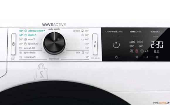 Gorenje Gorenje Washing mashine  WE62SDS Front loading, Washing capacity 6 kg,  1200 RPM, A+++, Depth 43 cm, Width 60 cm, White, Steam function, LED, Self-cleaning