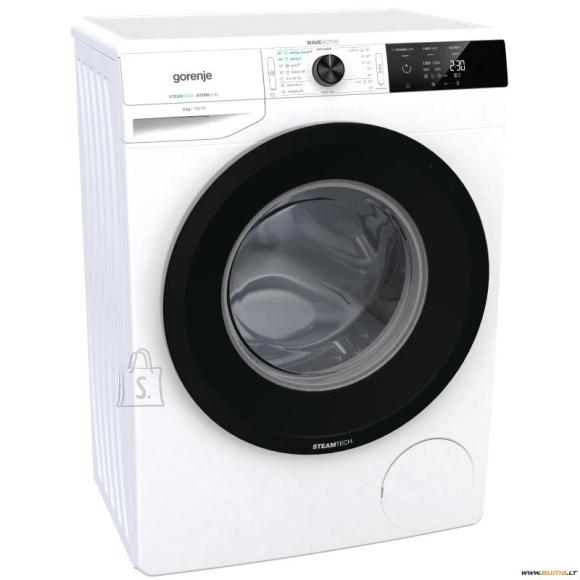Gorenje Gorenje Washing mashine  WE62SDS Front loading, Washing capacity 6 kg,  1200 RPM, A+++, Depth 43 cm, Width 60 cm, White, Steam function, LED, Self-cleaning