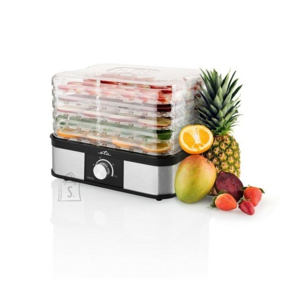 ETA ETA Fresa Food dryer ETA530190000 Black/ stainless steel, 245 W, Number of trays 5, Temperature control,