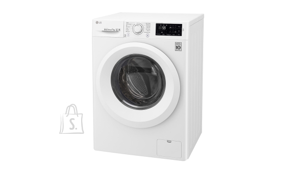 LG LG Washing machine F2J5QN3W A+++, Front loading, Washing capacity 7 kg, 1200 RPM, Depth 56 cm, Width 60 cm, Display, LED, Direct drive, NFC, White