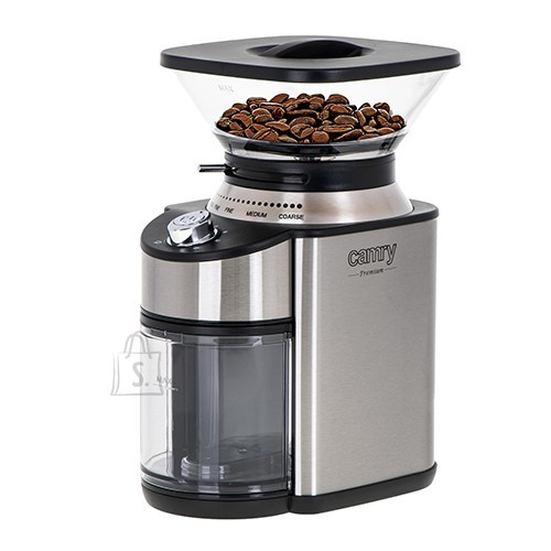 Camry Camry Coffee Grinder CR 4443 200 W, Coffee beans capacity 230 g, Number of cups 12 per container pc(s), Inox