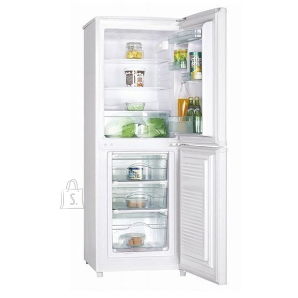 Goddess Goddess Refrigerator GODRCD0147GW9 A++, Free standing, Combi, Height 147 cm, Fridge net capacity 98 L, Freezer net capacity 53 L, 42 dB, White
