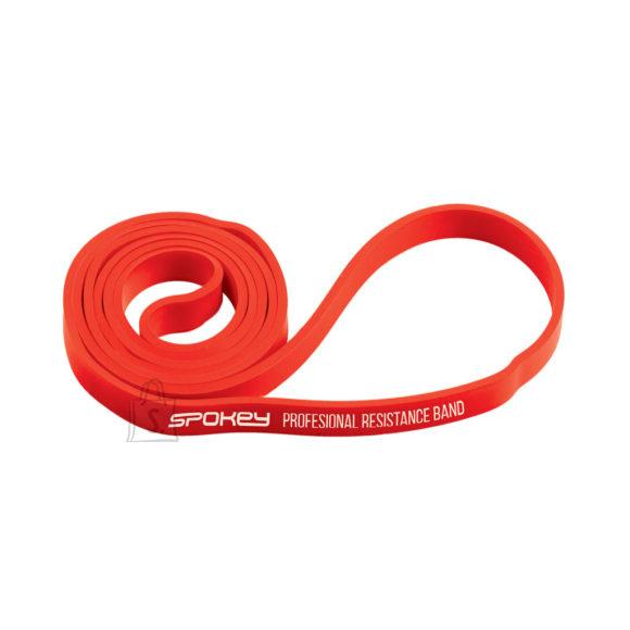 Spokey Spokey POWER II Rubber resistance band, 15-23 kg (medium), Red