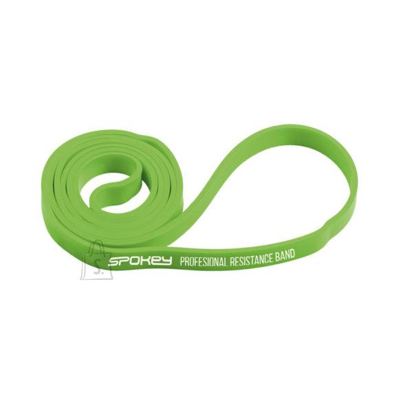 Spokey Spokey POWER II Rubber resistance band, 11-19 kg (light), Green