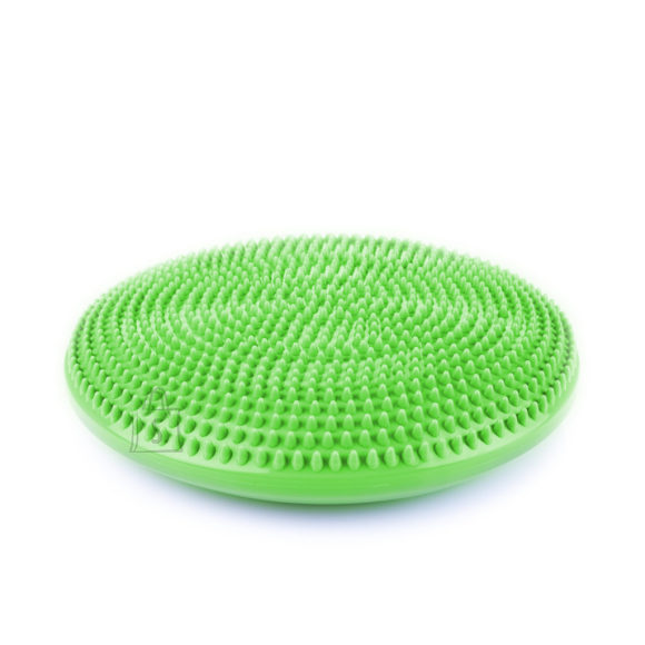 Spokey Spokey FIT SEAT Massage and balance pillow, Durable, moisture-resistant, 32.5 cm, Green