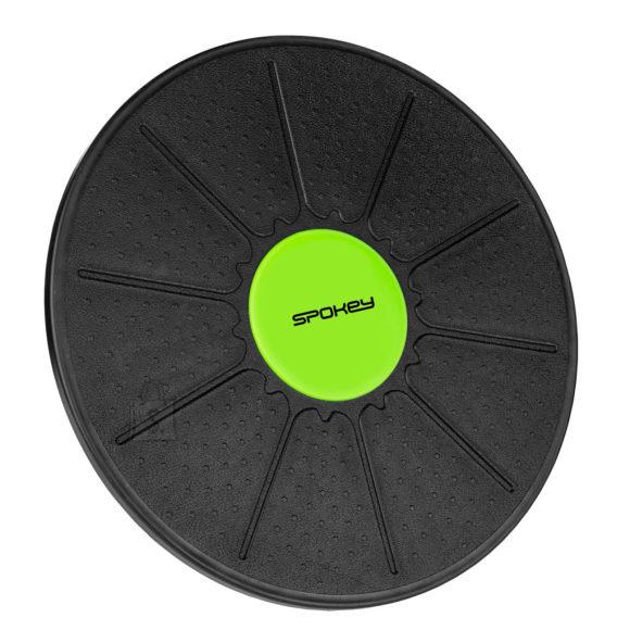 Spokey Spokey BALANCE PLATFORM Plastic pad, 39 x 6 cm, Black/green