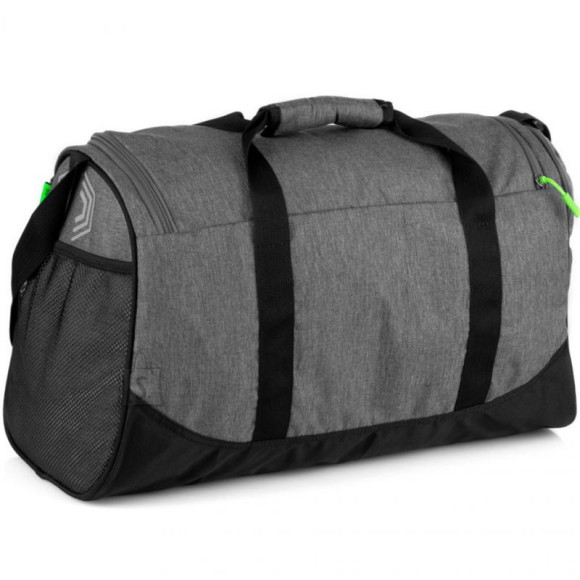 Spokey Spokey PIRX Sports bag, 35 litres, Comfortable handles and shoulder strap, Grey, Waterproof polyester