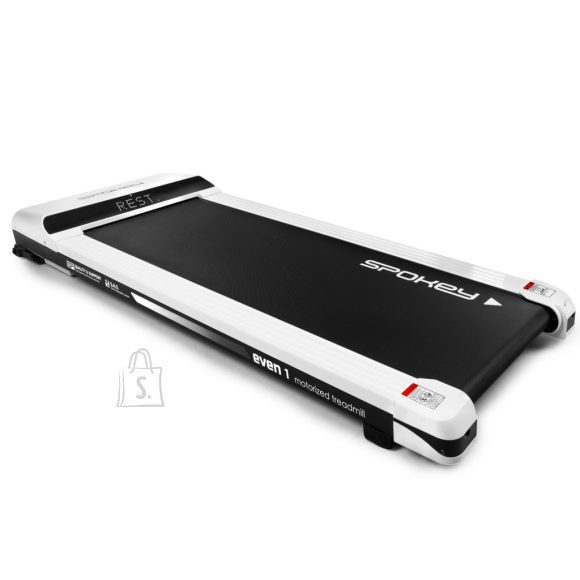Spokey Spokey EVEN1 Electric treadmill, Bluetooth, Gfit app, 90 kg, 115 x 41 cm, 1.5 HP, White, 6  km/h