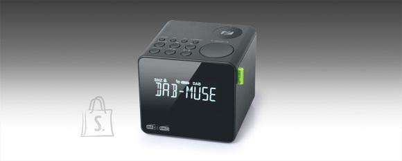 Muse Muse FM RDS Radio M-187 CDB Alarm function, DAB+/ FM PLL Radio, Black