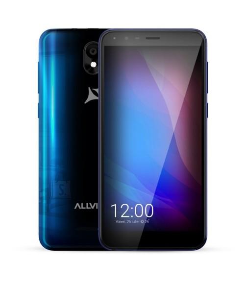 "Allview Allview A10 Lite Blue, 5.34 "", Capacitive multitouch screen, 2.5D, 480 x 960, Cortex-A7 Quad-core, Internal RAM 1 GB, 8 GB, Micro SD, Dual SIM, Micro SIM, 3G, Main camera 8 MP, Secondary camera 2 MP, Android, 8.1, 2150 mAh"