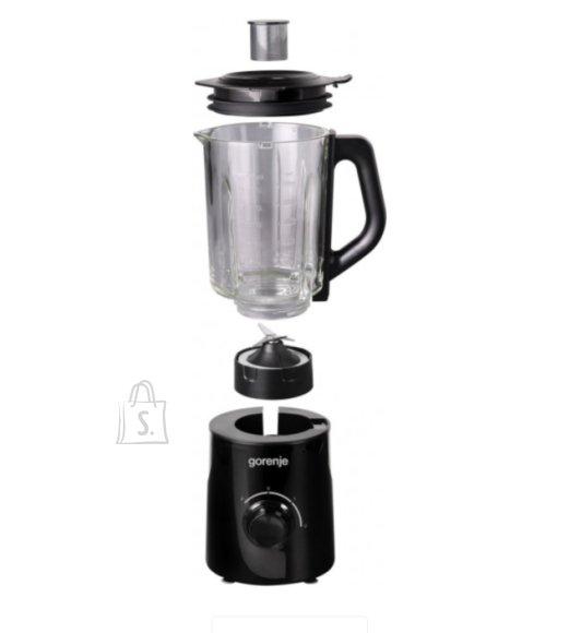 Gorenje Gorenje Blender B800GBK Tabletop, 800 W, Jar material Glass, Jar capacity 1.5 L, Ice crushing, Black