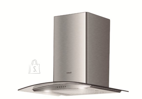 Cata CATA Hood CG5-T600 X Energy efficiency class B, Wall mounted, Width 60 cm, Mechanical control, Inox, LED
