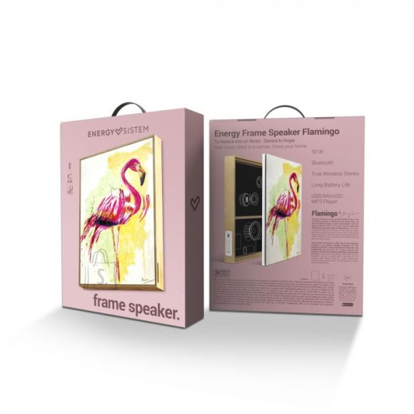 Energy Sistem Energy Sistem Frame Speaker Flamingo 50 W, Bluetooth, Wireless connection