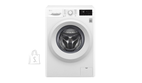LG LG Washing machine  F0J5WN3W A+++, Front loading, Washing capacity 6.5 kg, 1000 RPM, Depth 45 cm, Width 60 cm, Display, LED, Direct drive, NFC, White