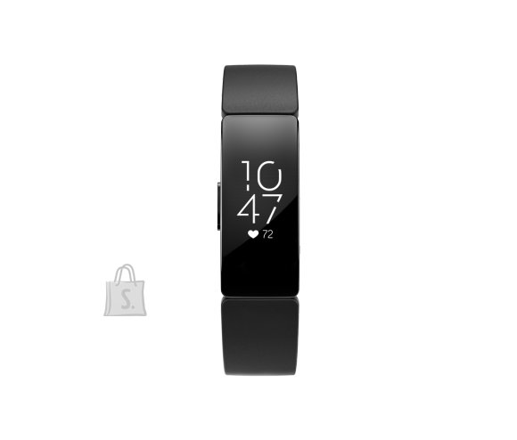 Fitbit Fitbit Inspire 2 Smart watch, GPS (satellite), OLED, Touchscreen, Heart rate monitor, Activity monitoring 24/7, Waterproof, Bluetooth, Wi-Fi, Black