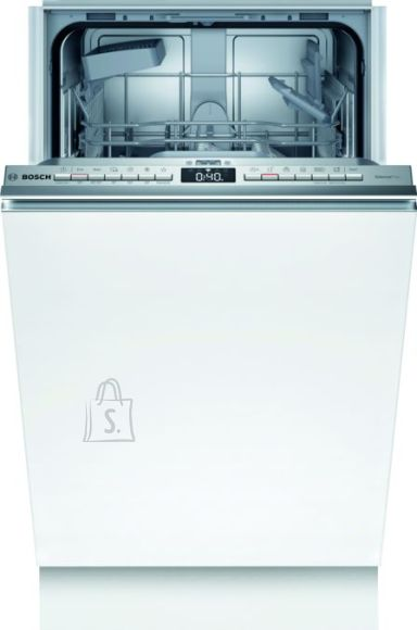 Bosch nõudepesumasin SPV4EKX29E Built-in, Width 45 cm, Number of place settings 9, Number of programs 6, A++, AquaStop function, White