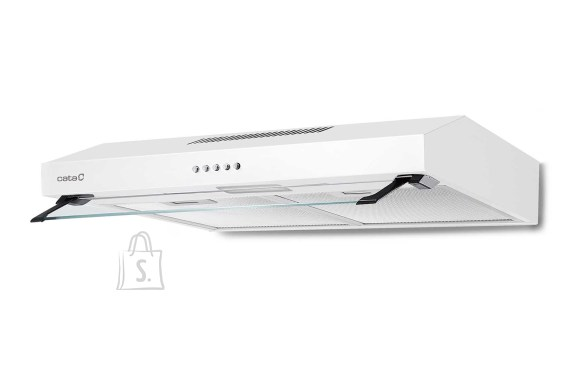 Cata CATA Hood C2-T600 WH Energy efficiency class C, Convential, Width 60 cm, 200 m³/h, Mechanical control, White, LED