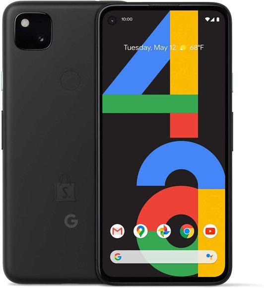 "Google google Pixel 4a Just Black, 5.81 "", OLED, 1080 x 2340 pixels, Qualcomm Snapdragon 730G, Internal RAM 6 GB, 128 GB, Single SIM, Nano-SIM card & eSIM, 4G, Main camera 12.2 MP, Secondary camera 8 MP, Android, 10, 3140 mAh"