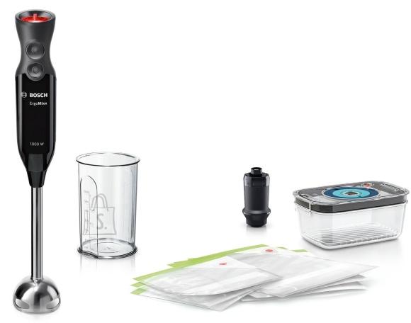 Bosch Bosch MS6CB61V1 ErgoMixx Hand Blender, 1000 W, Material jar(s) Plastic, 0.6 L, Black