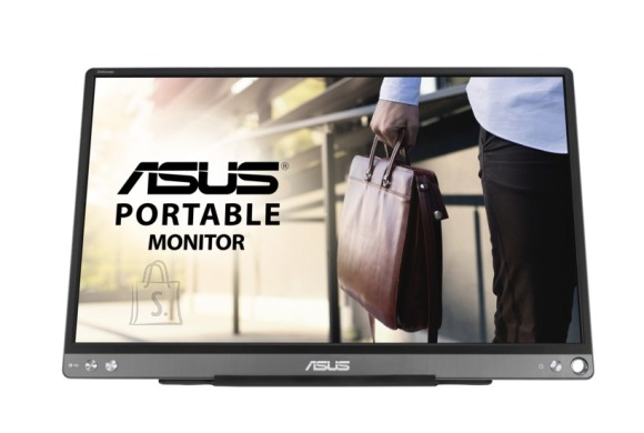 "Asus Asus Portable USB Monitor MB16ACE 15.6 "", IPS, FHD, 1920 x 1080, 16:9, 5 ms, 220 cd/m?, Black/Grey"