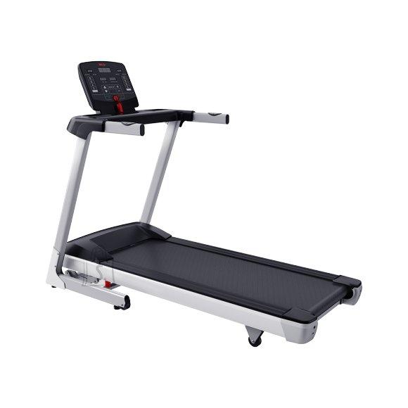 WNQ F1-4000A Home Use Treadmill, Handhold Sensor; Slope range: 0-10%, 120 kg, 1.5 HP - Max 2.5 HP, Silver, LED display