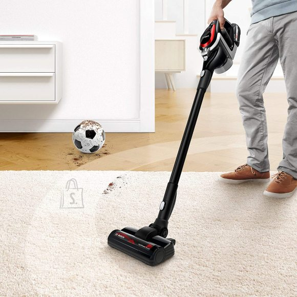 Bosch Bosch Vacuum cleaner Serie 8 Unlimited ProPower BSS81POW Cordless operating, Handstick and Handheld, 18 V, Operating time (max) 35 min, Black, Warranty 24 month(s), Battery warranty 24 month(s)