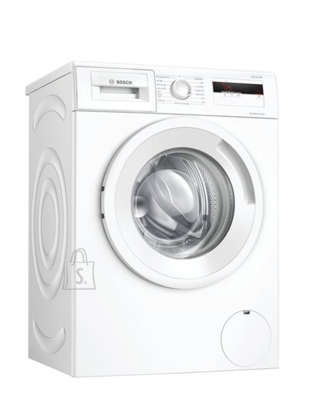 Bosch Bosch Serie 4 Washing Machine WAN280L2SN Energy efficiency class D, Front loading, Washing capacity 7 kg, 1400 RPM, Depth 55 cm, Width 60 cm, Display, LCD, White