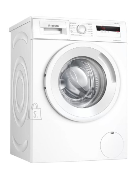 Bosch Bosch Serie 4 Washing Machine WAN240L2SN Energy efficiency class D, Front loading, Washing capacity 7 kg, 1200 RPM, Depth 55 cm, Width 60 cm, Display, LCD, White