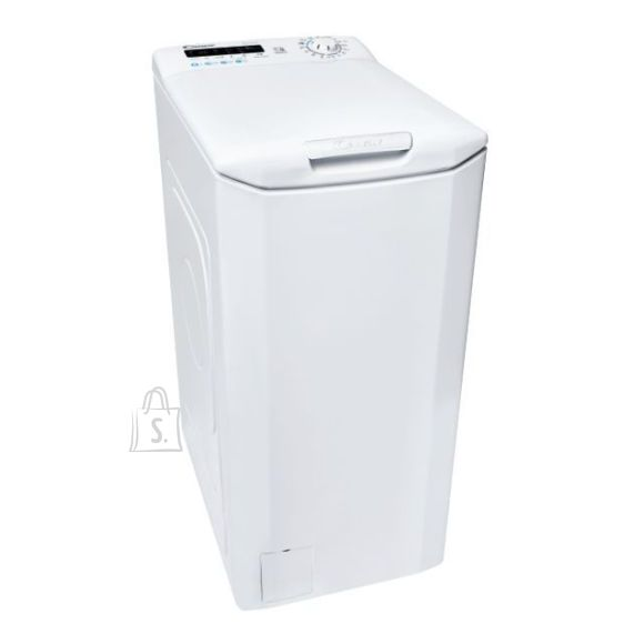 Candy Candy Washing machine CSTG 282DE/1-S Energy efficiency class F, Top loading, Washing capacity 8 kg, 1200 RPM, Depth 60 cm, Width 40.5 cm, NFC, White