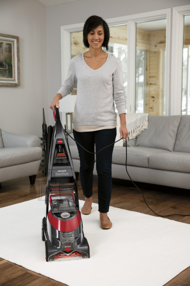 Bissell Carpet Cleaner StainPro 6 Corded operating, Handstick, Washing function, 800 W, Red/Titanium